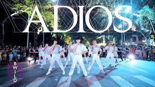 Download lagu [KPOP IN PUBLIC COLLABORATION] EVERGLOW(에버글로우) - Adios Dance Cover By B-Wild Ft Cli-max Crew Vietnam