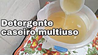 Detergente Caseiro Igual Ao Do Mercado