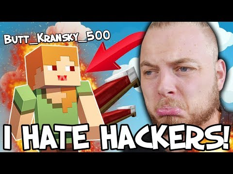 TRYING TO KILL A HACKER IN BEDWARS!!