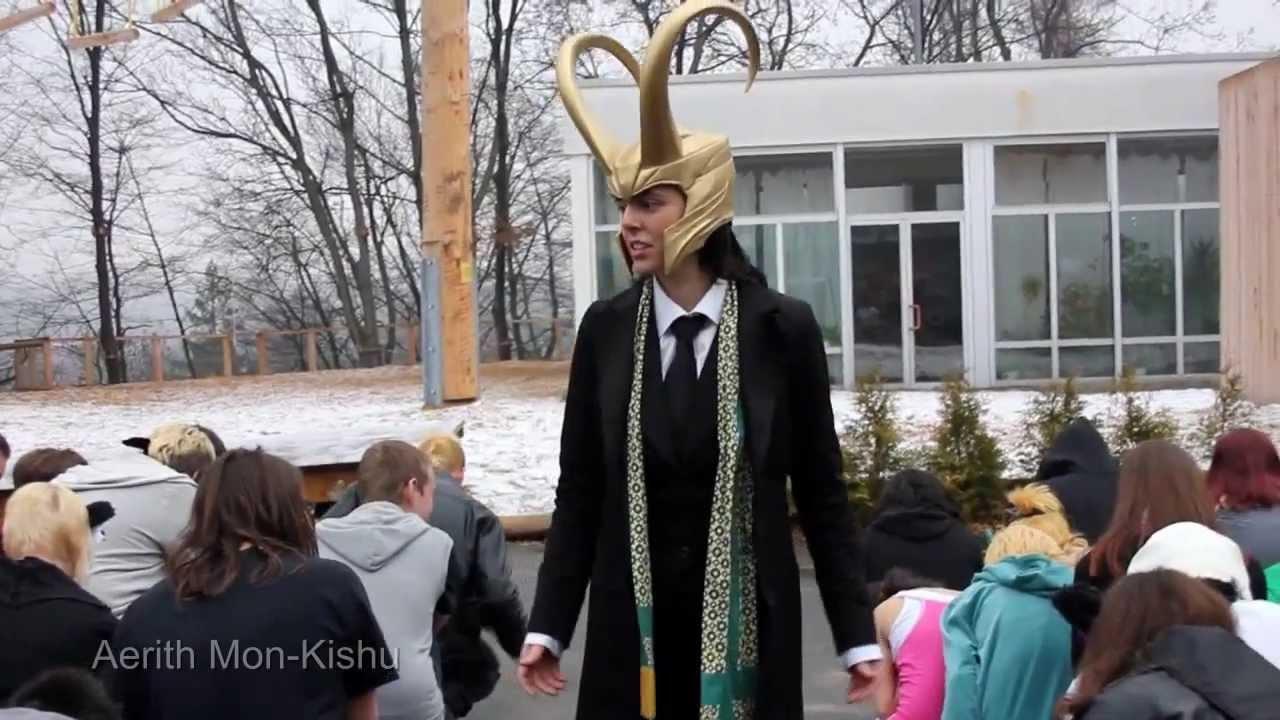 Loki Cosplay - Kneel Speech LOKIu0027D by Kid Loki  sc 1 st  YouTube & Loki Cosplay - Kneel Speech LOKIu0027D by Kid Loki - YouTube