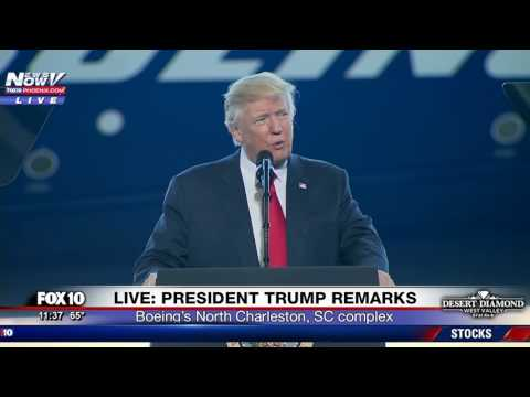 FULL SPEECH: President Trump Remarks at the Unveiling of the New Boeing 787 Dreamliner Aircraft