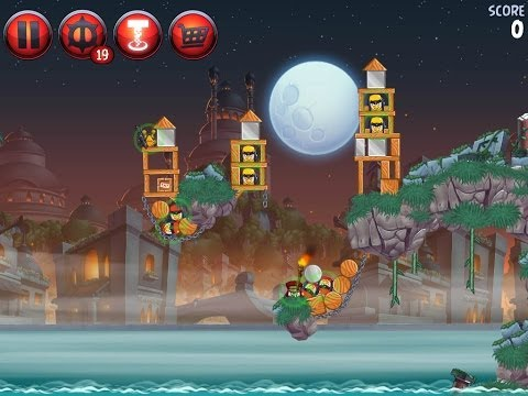 Angry Birds Star Wars 2 Level P3-18 Battle of Naboo 3 star Walkthrough