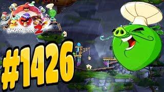 Angry Birds 2-Cobalt Plateaus United Steaks Of Hamerica Chef Pig Level-1426 Three Star Walkthrough