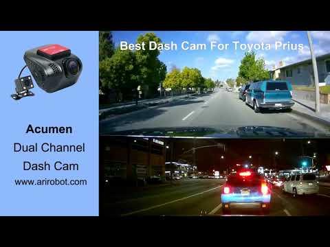 Best Dash Cam For Toyota Prius Acumen Dual Channel Dash Cam