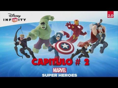 Disney Infinity 2.0 / Capítulo #2 -Marvel Super Heroes- En Español