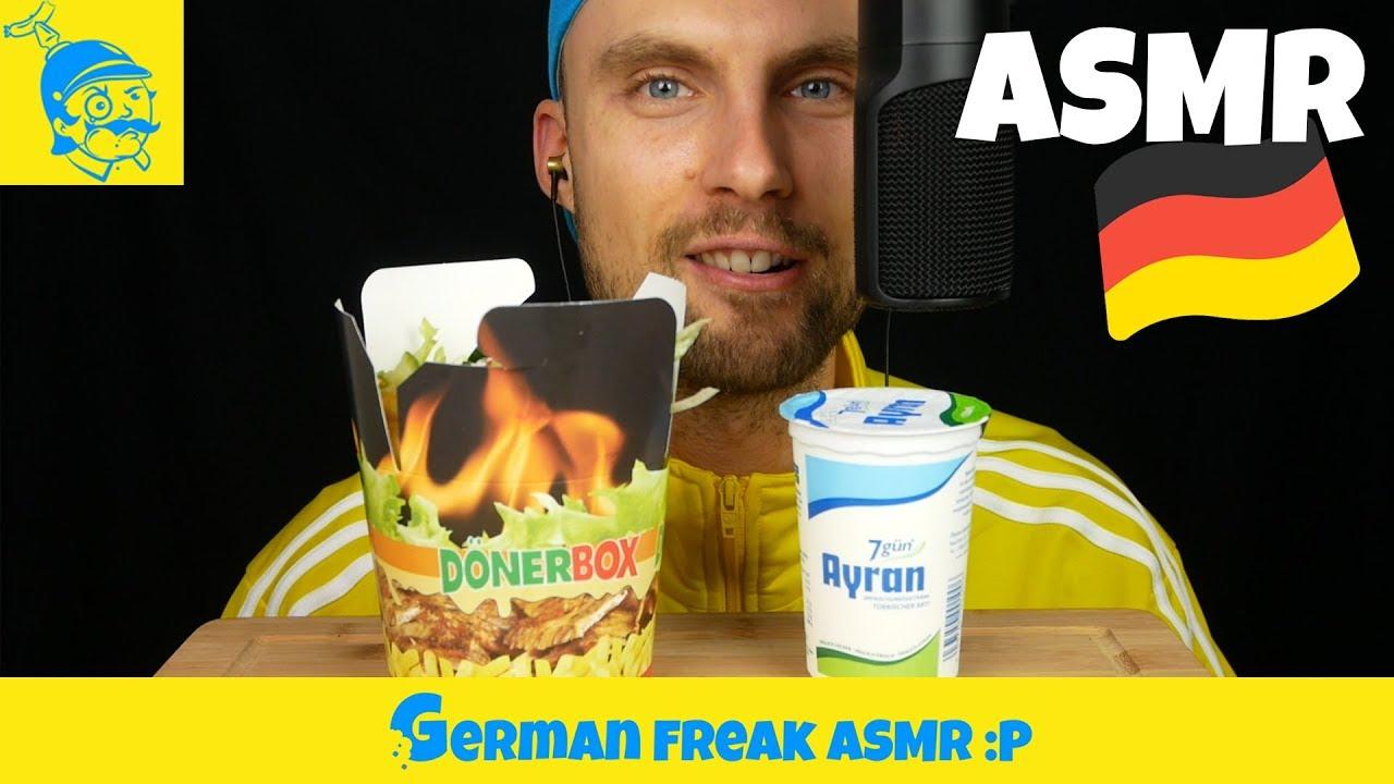 ASMR große Dönerbox essen (Döner-Box, ASMR deutsch)  - GFASMR