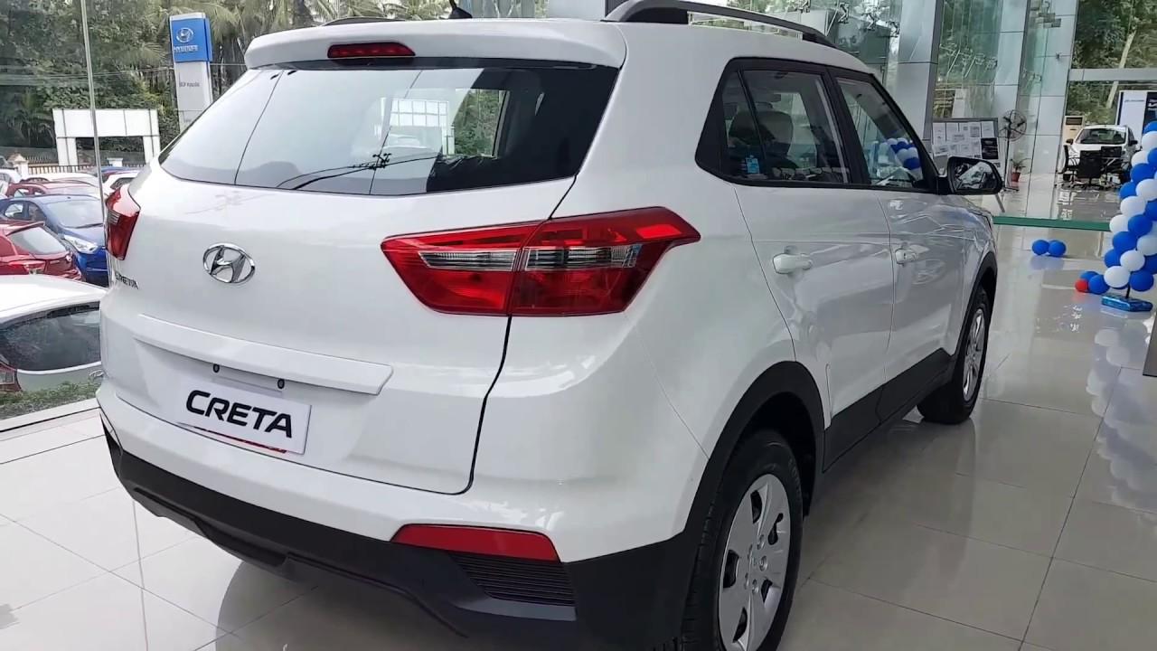 Creta 2017 White >> 2017 Hyundai Creta E+ Walkaround (Inside and Outside) - YouTube