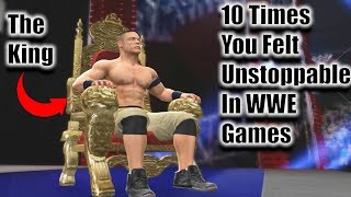 10 Times You Felt Unstoppable In WWE Games