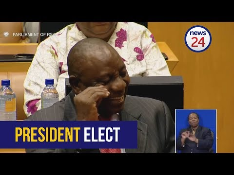 WATCH: Parliament officially elect Cyril Ramaphosa as president of SA