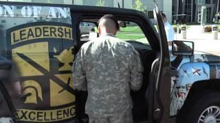 Anson Pruneda's ROTC Humvee Design Revealed!