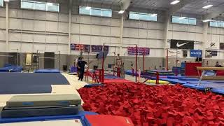 Simone Biles (USA) Triple Back Pike Onto Pit 2020