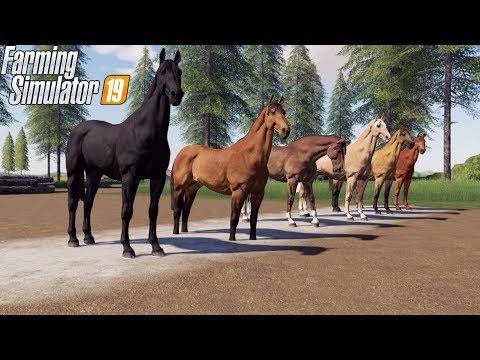 FIRST HORSE RACE IN FARMING SIMULATOR 2019 | KENTUCKY DERBY!