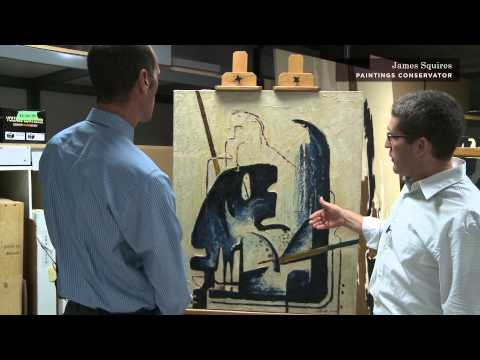 Conservation of the Clyfford Still Museum Collection