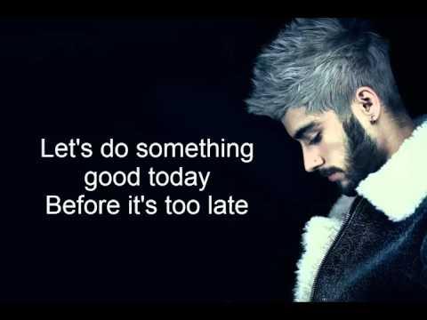 Zayn - Do Something Good (Lyrics)