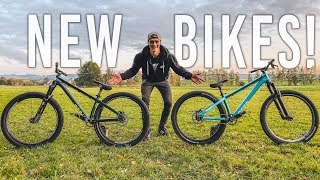 Meine Neuen HARDTAIL MTB BIKES! Bike Build Video - Rose The Bruce 1 & 2