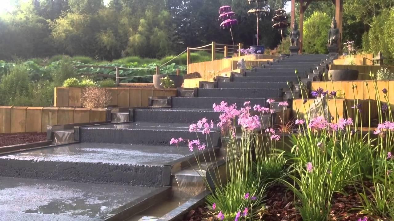 jogglo balinais - jardins des martels - youtube