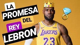 La PROMESA de LEBRON James a Los Ángeles LAKERS | Promete volver al JUEGO DE TRONOS de la NBA 👑