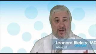 Allergist Dr. Leonard Bielory on Eye Allergies