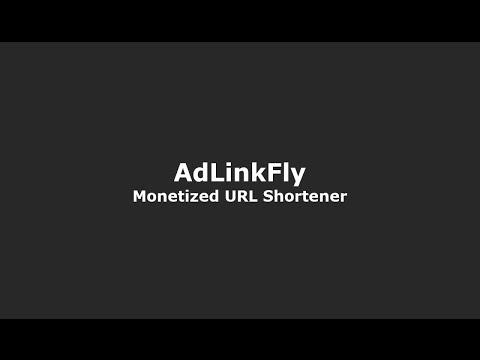 AdLinkFly - Monetized URL Shortener