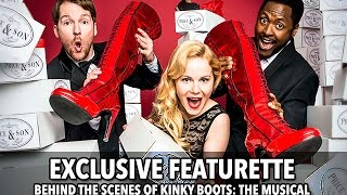 Kinky Boots The Musical London Exclusive Featurette (HD) Cyndi Lauper
