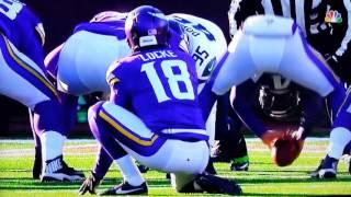 Blair Walsh Misses GAME WINNING Field Goal | Minnesota Vikings vs Seattle Seahawks