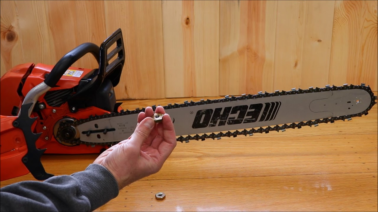 Installing chainsaw chain echo cs 620p youtube installing chainsaw chain echo cs 620p greentooth