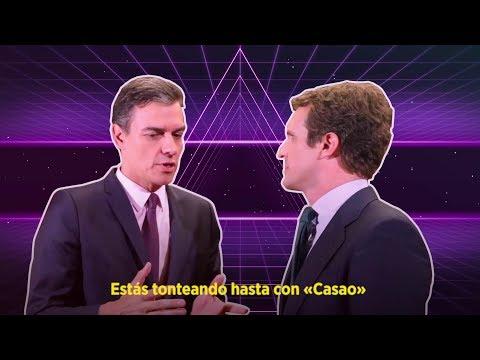 """Podemos lanza un reguetón para chancear sobre o """"amor prohibido"""" entre Sánchez e Rivera"""
