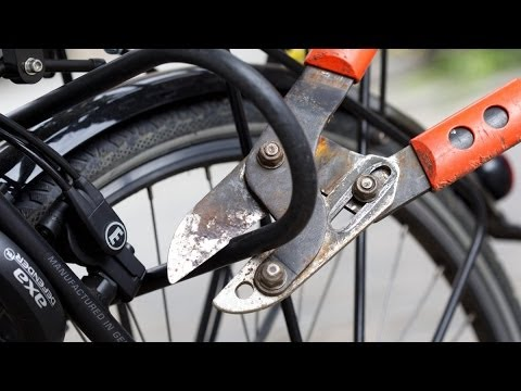 Test Fahrradschlösser
