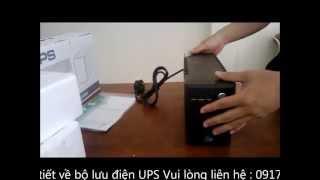Bộ lưu điện UPS GTEC 600VA, Bộ lưu điện -Bo luu dien UPS Thiết bị lưu điện UPS - Bo luu dien thumbnail