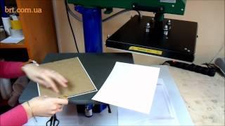 видео Печать на пазлах