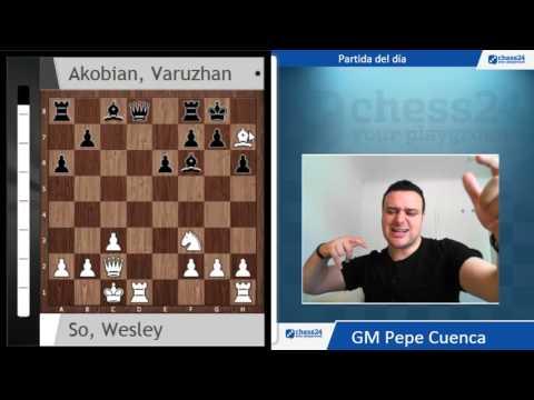 Campeonato de USA(5) Partida del día: So vs Akobian