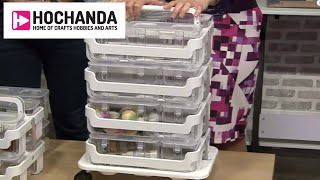 Craft Room Storage At Hochanda - The Home Of Crafts Hobbies And Arts!