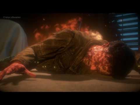 Смерть в Until dawn (дожить до рассвета) -  Сэм всех спалила