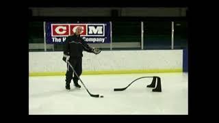 """Финт """"Под клюшку"""". Хоккей. Работа с клюшкой."""