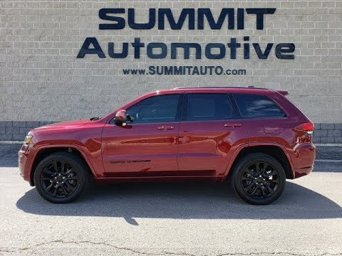 2018 Jeep Grand Cherokee Altitude Red