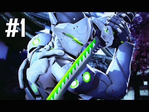Overwatch Gameplay Part 1 - Genji with Friends (Let's Play Commentary)