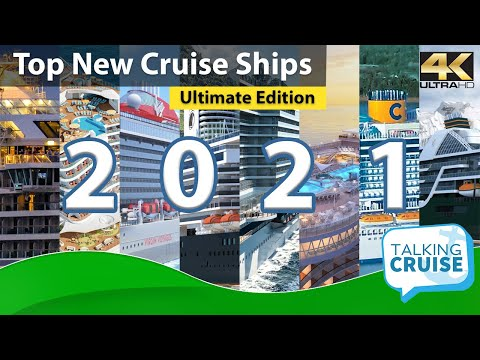 12 Best NEW Cruise Ships In 2021
