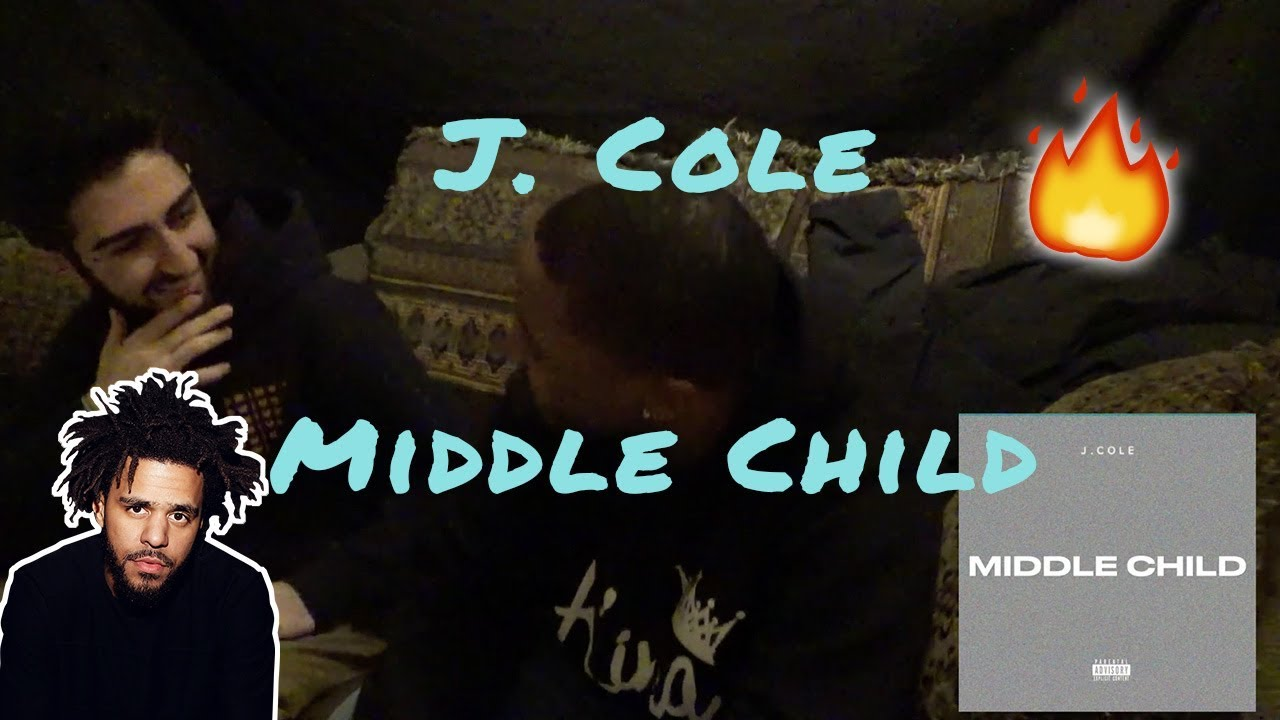 Cole is COLD! Reaction to J. Cole - Middle Child