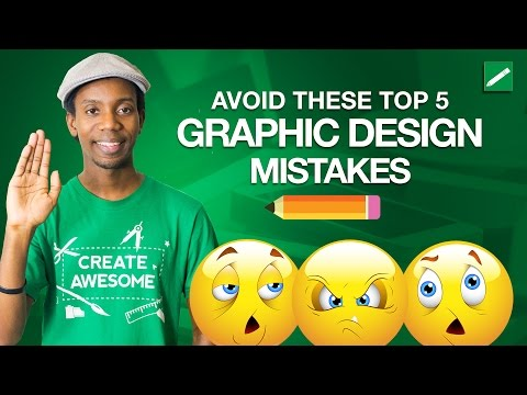 Top 5 Graphic Design Mistakes to Avoid