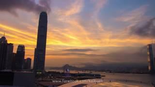 金鐘晚霞 縮時影片  Admiralty sunset glow time-lapse  HD