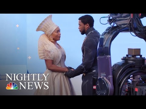 How 'Black Panther' Became A Worldwide Phenomenon | NBC Nightly News