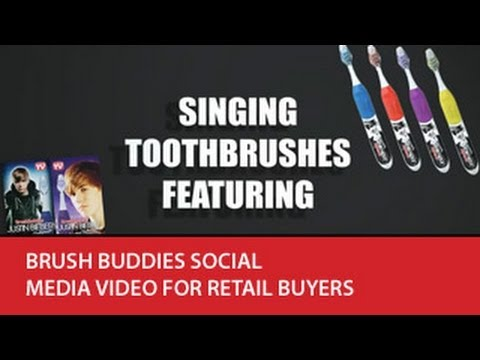 Brush Buddies Social Media Video for Retail Buyers