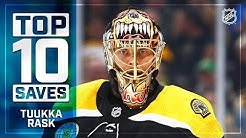 Top 10 Tuukka Rask saves from 2018-19