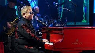 Elton John Performs Looking Up