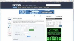 Calculating a mortgage bankrate com