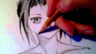Видео-урок. Как рисовать в стиле аниме/манга(Комментируйте, подписывайтесь, жду ваших пожеланий), 2011-03-10T15:28:19.000Z)