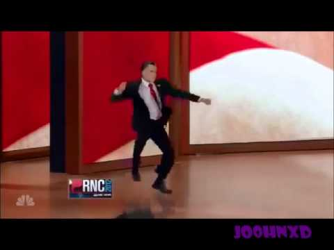 Mitt Romney Dancing Gangnam Style (Romney Style)