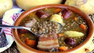 Lentejas con chorizo, las mas faciles y con mas sabor del mundo ¡COMPRUEBALO!