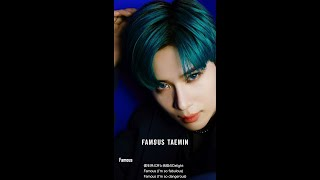"Taemin's japan 3rd mini album ""famous"" out august 28 watch the official music video for famous: https://youtu.be/f32hhosj14k downloading & streaming availabl..."
