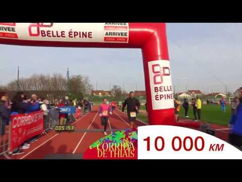 THIAIS LE  PARCOURS 10KM